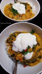 Indisch kochen leicht gemacht: Palak Chana Dal
