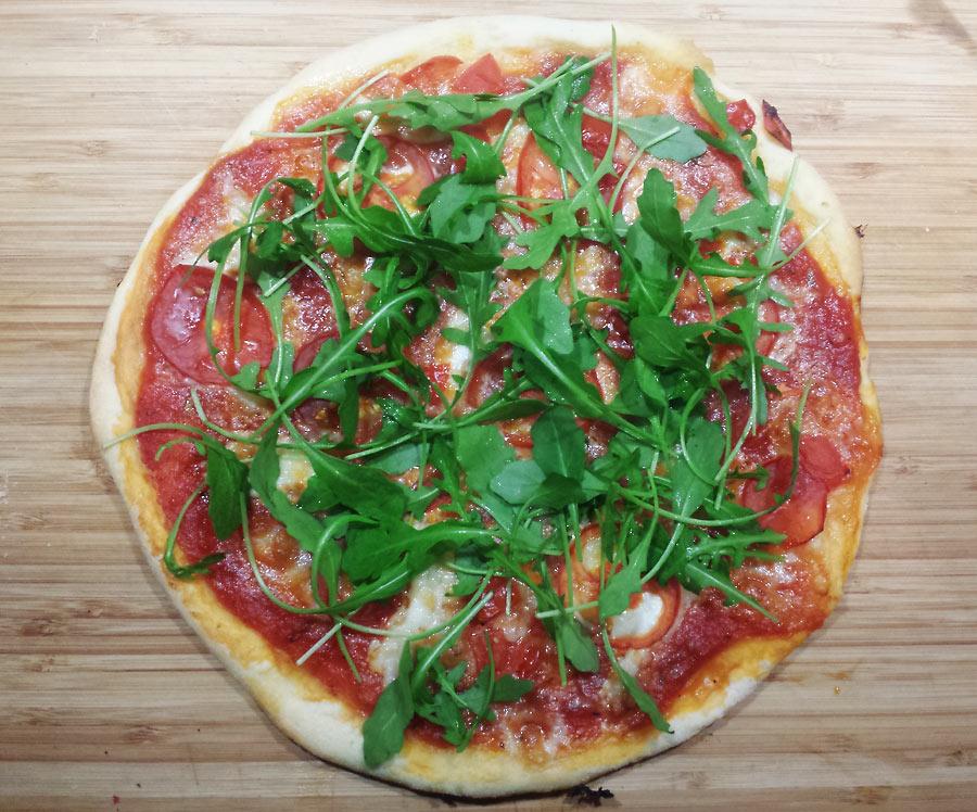 Auf dem Weg zu der perfekten Pizza (Teil I) - einfacher Grundteig