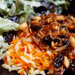 Indischer Möhren Reis