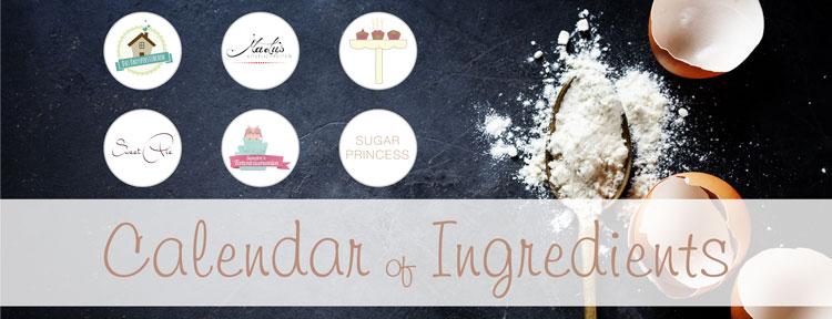 Calendar of Ingredients Banner