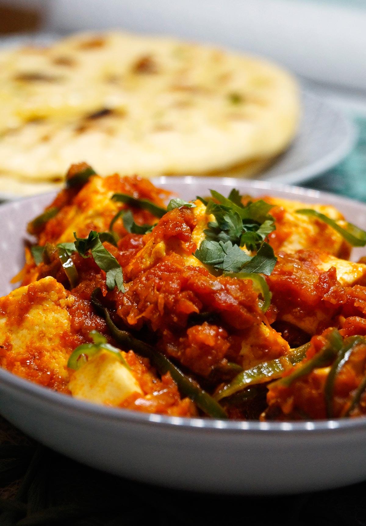 Tawa Paneer Masala - Curry - Rezept auf carointhekitchen.com