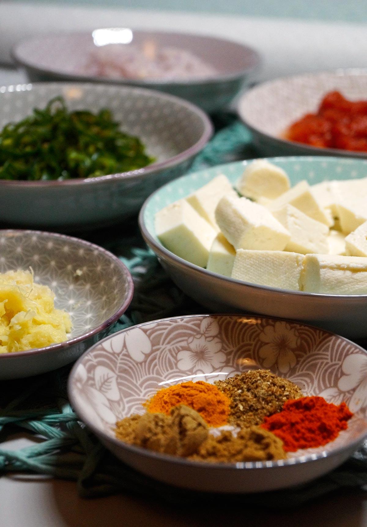 Paneer Tawa Masala - Curry - Rezept auf carointhekitchen.com